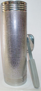 Guacharaca Guiro Aireartesanal Acero Contrinche No6 29x6 Cms