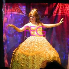Alquiler Disfraz Adulto Princesa Cosplay Bella Bestia Frozen