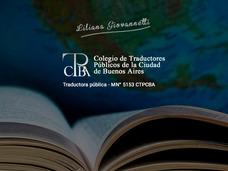 Traducciones Públicas Técnico-científicas-urgencias