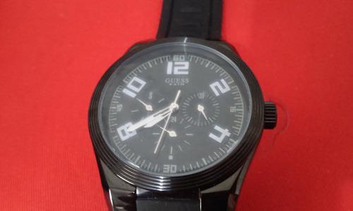 Relogio Guess Frete Gratis Mod. W12631g1 Black Original