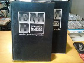 Livro Enciclopédia De Música Brasileira 02 Vols