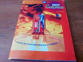 Álbum Coleção Viagem Espacial Surpresa Nestlé