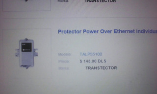 Protector Power Over Ethernet