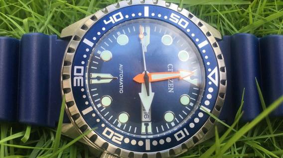 Citizen Diver Automático 100m - Azul - Lindo Demais !!!