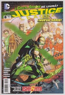 Justice League # 8 - Editorial Televisa