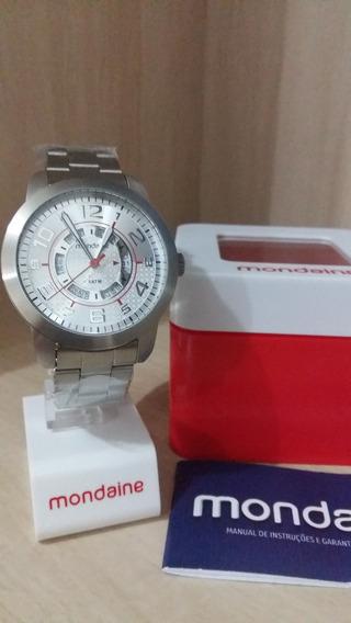 Relógio Mondaine (original, Com 1 Ano De Garantia)