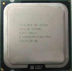 Processador Intel Xeon X3220 8m - 2.40 Ghz 1066 Mhz Lga775