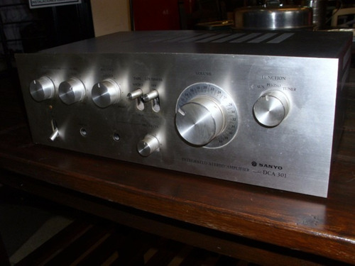 Sanyo Integrated Amplifier Dca 301