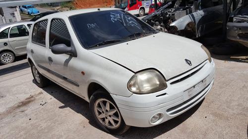 Sucata Renault Clio Rt 1.0 16v - Ano: 2001 (somente Peças)