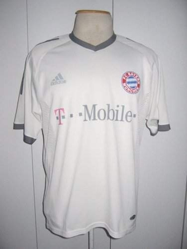 Camisa Bayern Munchen Branca Climacool 2002