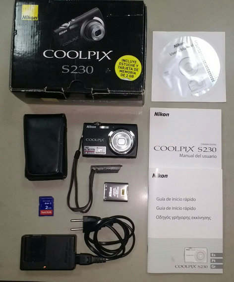 Camera Nikon S230 Touch