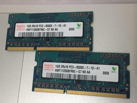 Memoria Macbook Pro 2gb (2x1)