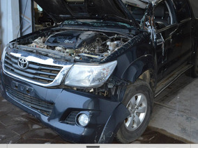Sucata De Toyota Hilux Cd 4x4 Srv 171cv