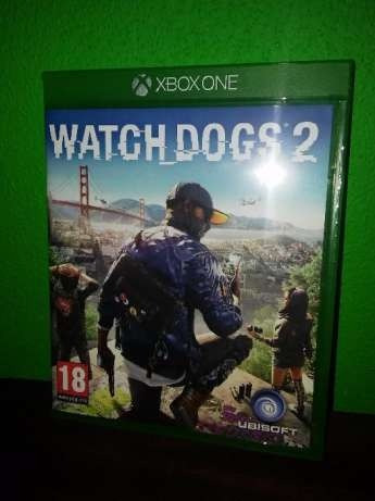 Jogo Original De Xbox360 Watch Dogs 2 Xbox One