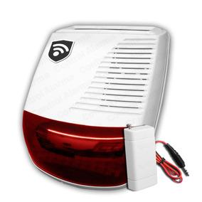 Sirena Estrobo Flash Alarma Exterior Seguridad Casa Negocio