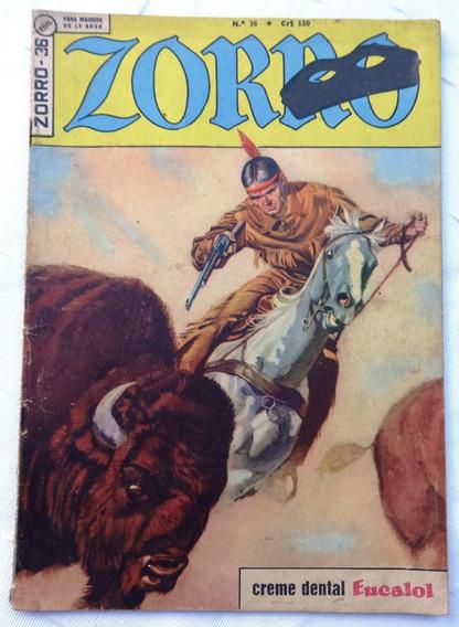 Zorro Nº 36: Dupla Emboscada - 1965 - Ebal