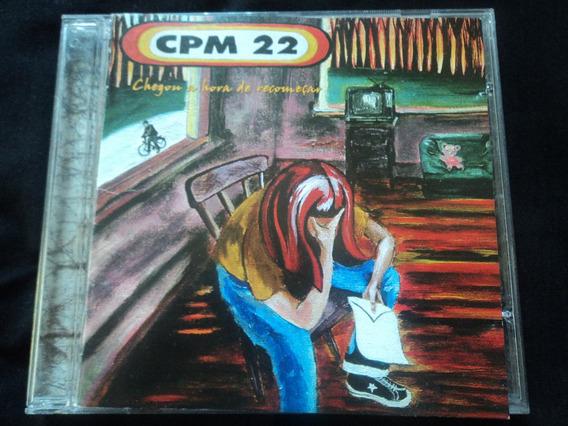 Cd-cpm 22:chegou A Hora De Recomeçar:rock,hardcore Melódico