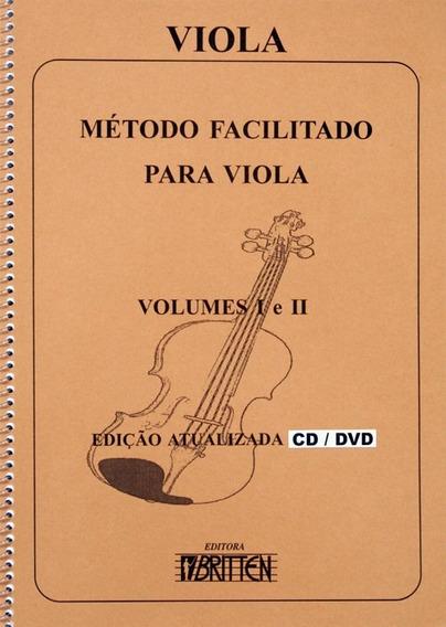 Método Para Viola Nelson Gama Vl- I E Ii Acompanha Cd