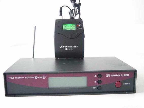 Sistema Sem Fio De Microfone Lapela Sennheiser Ew122 G2