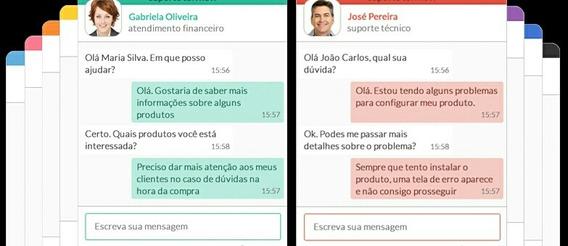 Integração De Chat De Vendas Para Loja Virtual E Blogs