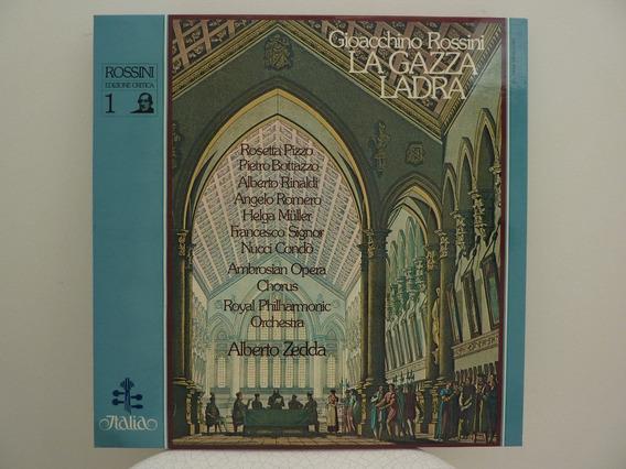 Italia 4x Lp Box Set: Rossini La Gazza Ladra