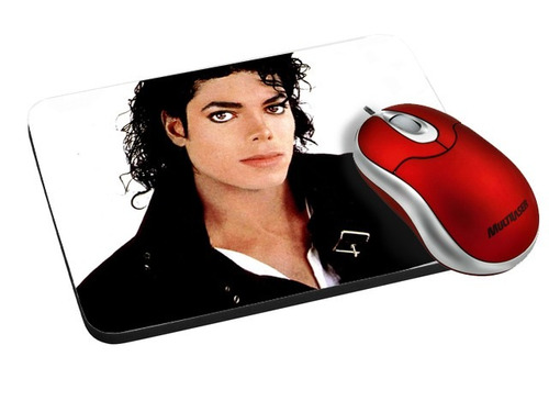 Imagem 1 de 6 de Mouse Pad Envie Sua Imagem Frete Grátis Michael Jackson