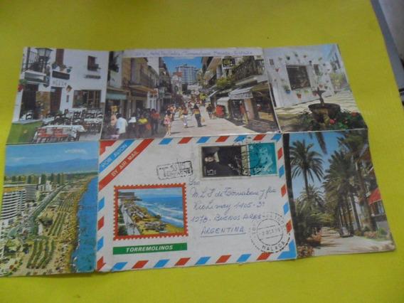 Antigua Tarjeta Postal Hotel Don Pedro Torremolinos Malaga