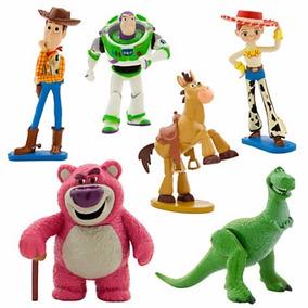 Toy Story Play Set Disney Store / Para Enfeite De Bolo Festa