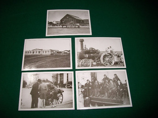 Lote De 5 Tarjetas Postales Modernas De Fotos Antiguas .