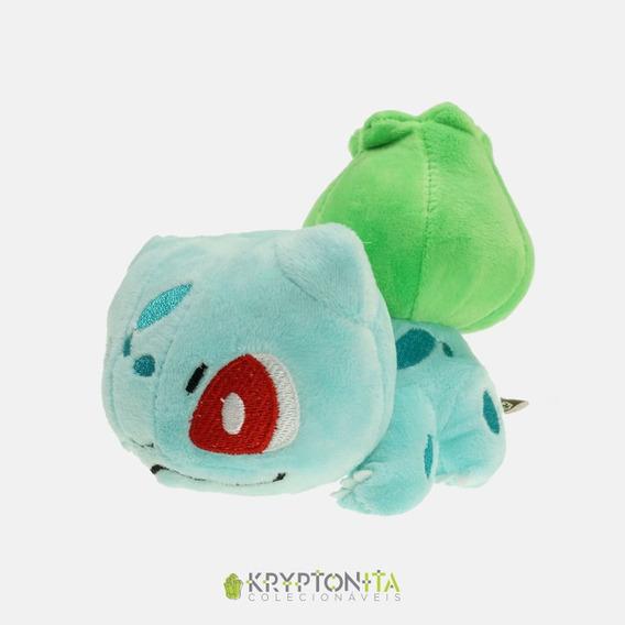 Pelúcia Pokémon - Bulbassauro 12cm