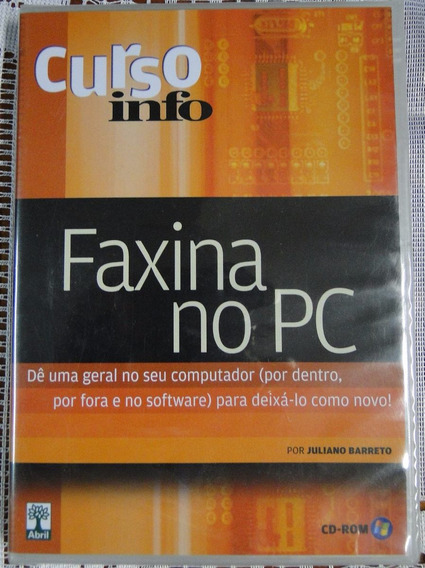 Cd-rom Curso Faxina No Pc (lacrado!!!)