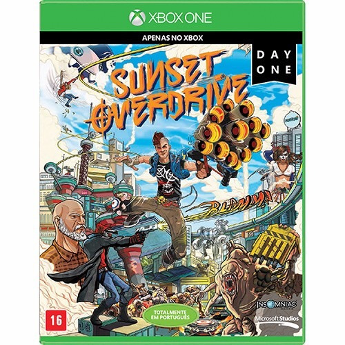 Sunset Overdrive - Day One Edition- Xbox One - Mídia Blu Ray