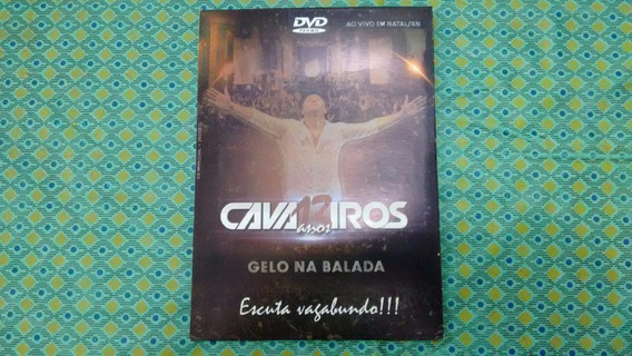 Dvd Cavaleiros Do Forró 13 Anos - Promocional - Frete Gratis