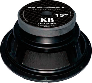 Parlante 15 700w Kb-15 Pf-powerful