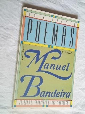 * Livro - Manuel Bandeira - Poemas - Literatura Nacional