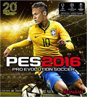 Pes 16 Ps3 Pro Evolution Soccer Playstation 3 Original