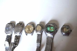 Colección De 6 Relojes Dobro/orient/aseikon B150