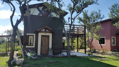 Cabañas En Carpinteria, San Luis A 5´ De Merlo