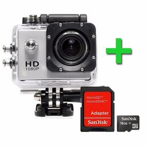 Câmera Filmadora Sports Hd 1080p Aprov D