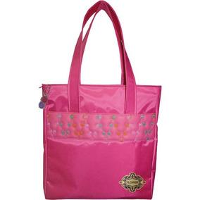 Bolsa Dac Flower Rosa