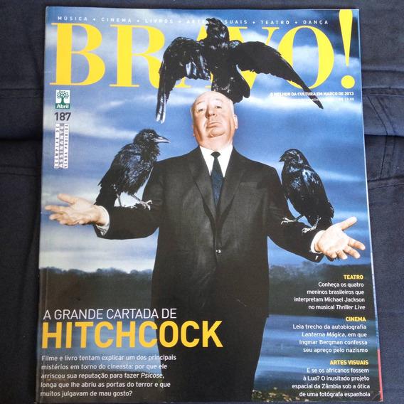 Revista Bravo 187 2013 Hitchcock Thriller Live Arte Visuais