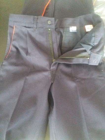 Pantalon De Trabajo Grafa ; 1ra.calidad, Extra Grueso.
