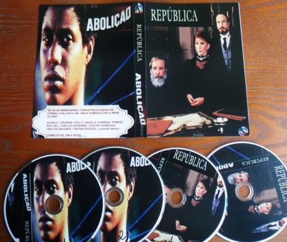 Dvd - Abolição E República (2 Minisséries) 1988