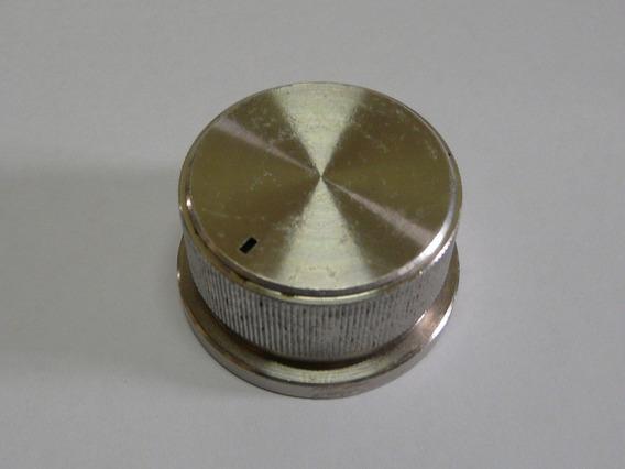 Peças Receiver Sansui Qrx-9001 Botão Aluminio Knob Volume