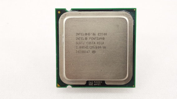 Processador Intel Pentium Dual Core E5500 2.8ghz 775