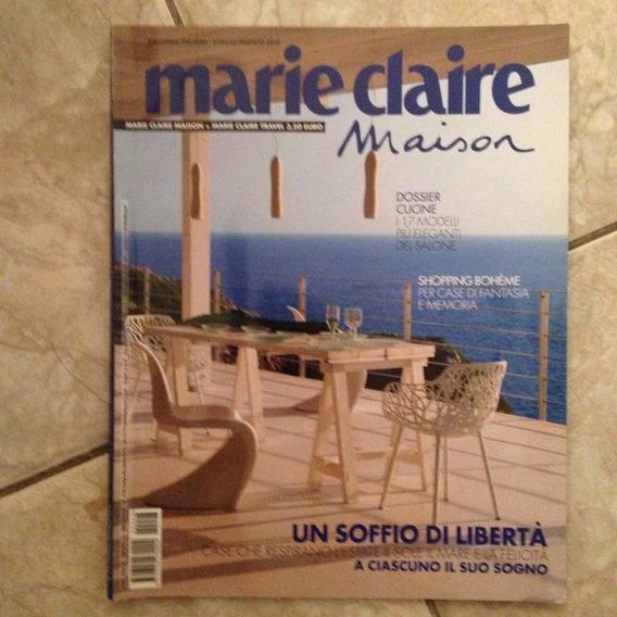 Revista Marie Claire Maison + Travel 7-8/2012