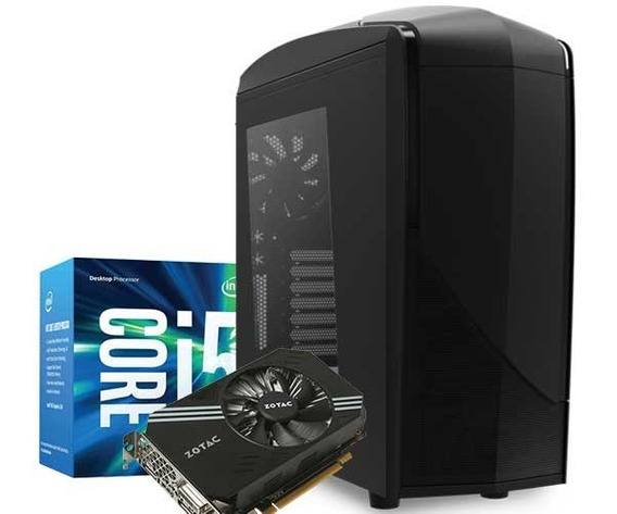 Pc Gamer Intel Corei5 + 8gb Ram + Hd 1 Tera