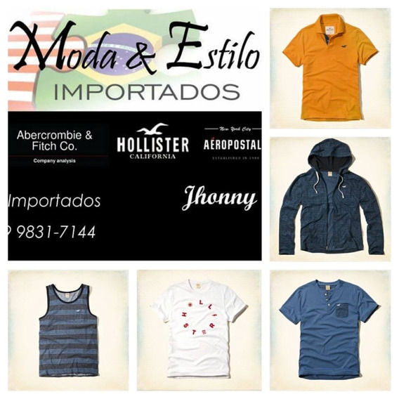 Camisetas Hollister Aeropostale - Importadas