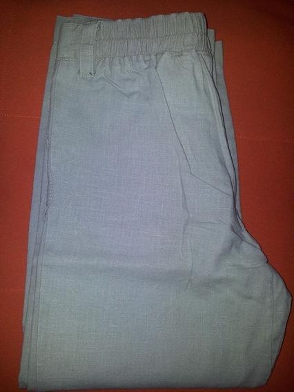 Pantalon De Lino Talle 8