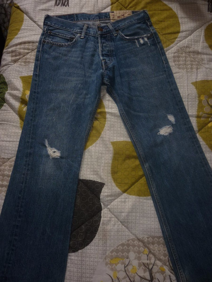 E Pantalon De Jeans Hollister Art 82216
